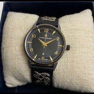 Lucky Brand Torrey embroidered Watch 33mm